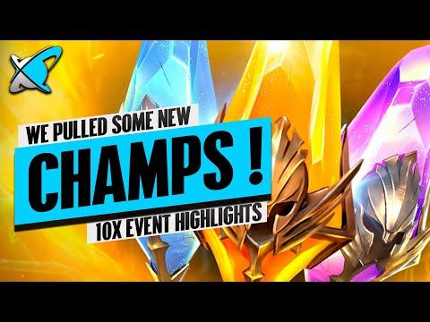 I GOT SOME 10X CHAMPS!! | 10X Prince Kymar Event Highlights | RAID: Shadow Legends
