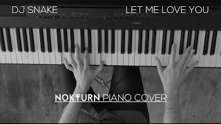 DJ Snake ft. Justin Bieber - Let Me Love You (Zedd Remix)   Piano Cover