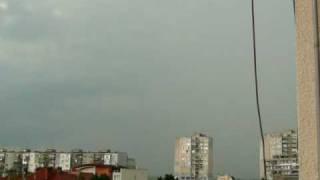 Light rain in Yambol 03.06.2010