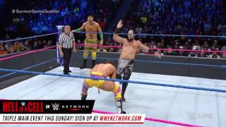 Hype Bros vs  The Ascension   Survivor Series Qualifying Match  SmackDown LIVE, Oct  25, 2016