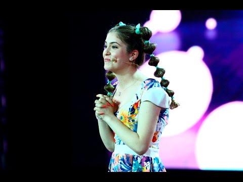 """Marea finală """"iUmor""""! Ioana Roman i-a hipnotizat pe toți cu cel mai amuzant număr de stand up"""