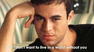 Enrique Iglesias-Heart Attack HQ LYRICS width=