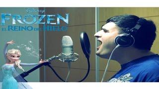 Frozen El Reino del Hielo - ¡Suéltalo! (Cover masculino por cursedchild)
