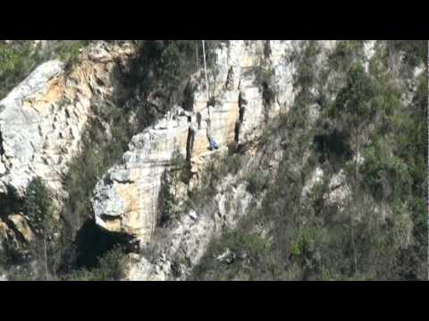 Todd Bloukrans Gorge Bungee Jump – Highest Bungee Jump in the World at 710 Feet.mpg