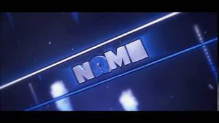 Free Blue Intro Template | C4D - AE | Download in DESC | #13