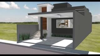 Casa pequena moderna 7x20