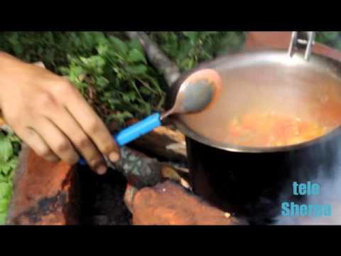 Cucinando nella natura (we love Sherpa House)
