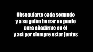 CNCO- Quisiera (Letra)