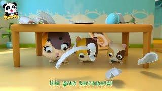 Un Gran Terremoto Agita | Canciones Infantiles | BabyBus Español
