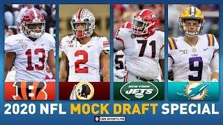2020 NFL MOCK DRAFT Full First Round: Alabama Tua and LSU Burrow in Top 5 | CBS Sports HQ