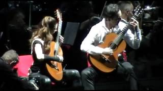 Andrea Bocelli -  Acoustic Guitars Song - 10.5.2013 Beograd Kombank Arena