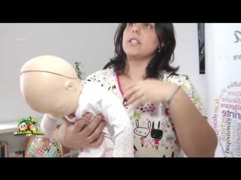 Prim ajutor pentru bebeluşi
