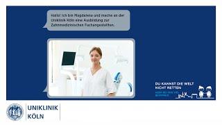 Ausbildung Zahnmedizinische Fachangestellte I Uniklinik Köln