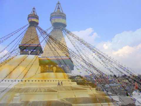 Kathmandu's Buddhist Stupa of Boudhanath
