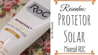 Resenha: Protetor Solar com cor Minesol Roc! - Por Mô Azevedo