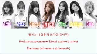 AOA - Luv Me [Sub. Español + Hangul + Rom] Color & Picture Coded
