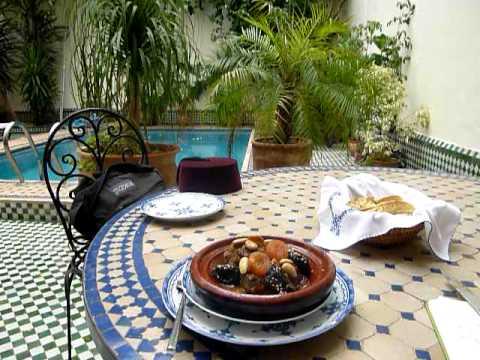 Fes- tajin at Riad Yacout
