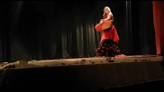 Dança cigana por uma francesa