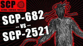 SCP-682 vs SCP - ●● ●●●●● ●● ● illustrated ft. The Haunted Reader