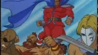 street fighter la serie animada - latino