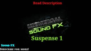 Sound FX: Suspense 1