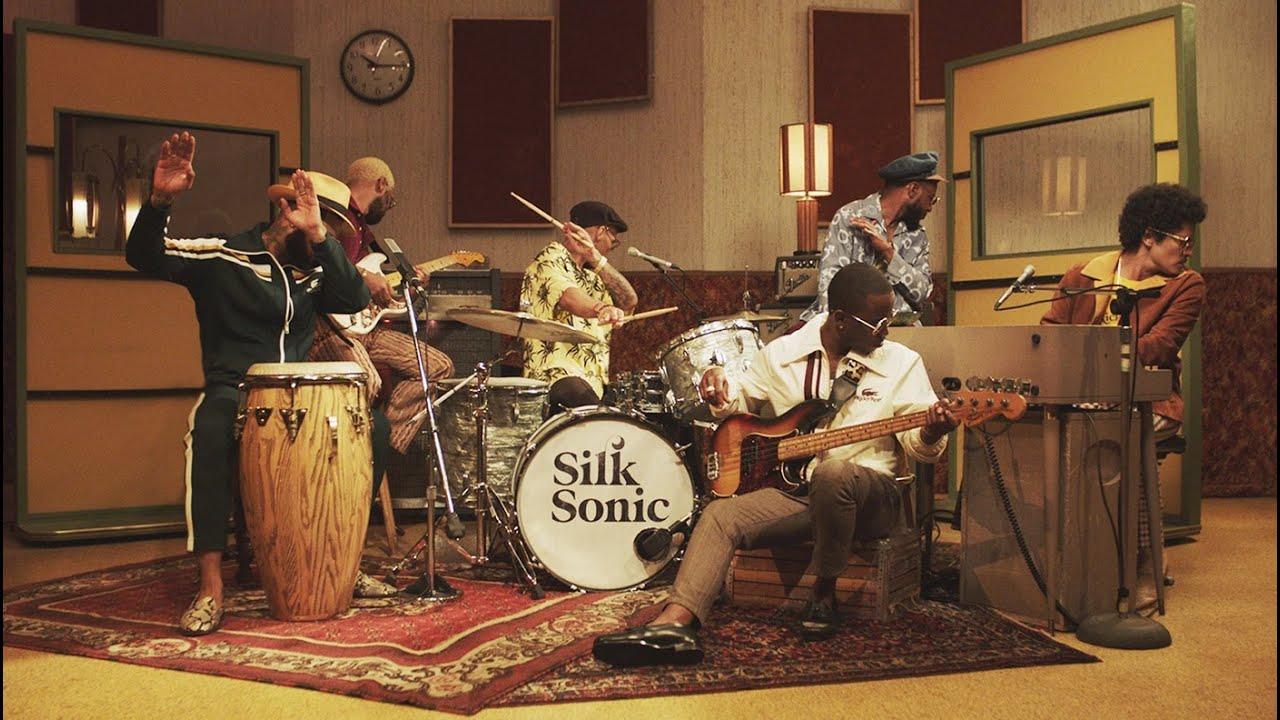 Bruno Mars, Anderson .Paak, Silk Sonic - Leave the Door Open