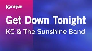 Karaoke Get Down Tonight - KC & The Sunshine Band *