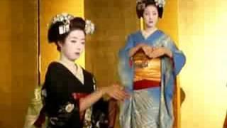 Geiko (Geisha) Dancing Kyoto