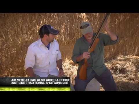 Video: Air Venturi Wing Shot .50 Caliber Smoothbore Air Shotgun Review | Pyramyd Air