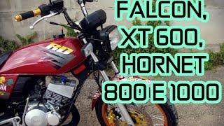 FALCON, XT600, HORNET, 800, 1000 - RD 135 DANDO CORO NELAS