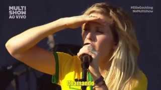 ELLIE GOULDING - LIGHTS @ LOLLAPALOOZA BRASIL 2014