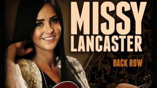 Missy Lancaster - Back Row (Audio)
