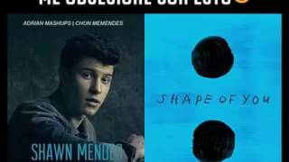 Treat you better and shape of you (Shawn Mendes ft Ed sheeran)
