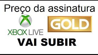 Preço da assinatura do Xbox Live Gold vai subir