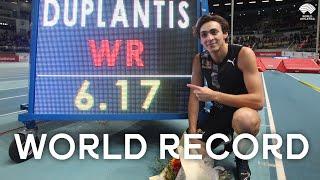 Armand Duplantis | 6.17m Pole Vault World Record