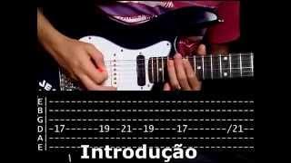 SARA-ME - Fernandinho (VÍDEO AULA) por Danilo Pugim(TABLATURA)