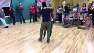 Enah Lebon & Kizomba Chick™ Kizomba demo in Florida
