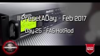 #PresetADay - FAS HotRod Day 27 (Feb 2017)