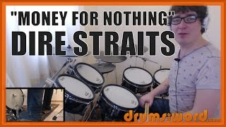 ★ Money For Nothing (Dire Straits) ★ Drum Lesson PREVIEW | How To Play Song (Terry Williams)