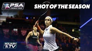 Squash: Shot of the Season - Women's 2017/18 Shortlist