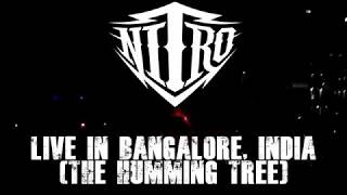 Nitro (Band) Taking Stage - Freight Train | Live in India | Bangalore | The Humming Tree
