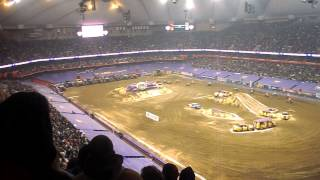 Monster Jam @ The Carrier Dome-Quad Wars Main