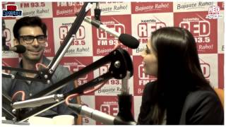 Sonam Kapoor and Fawad Khan with RJ Malishka