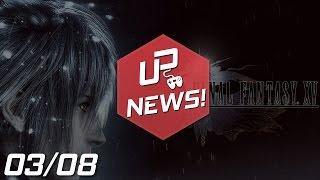 DLC PAGA EM FINAL FANTASY XV   NOVO BATMAN COM PROBLEMAS   DLC DE BF4 GRÁTIS   INSIDE NO PS4 E MAIS!