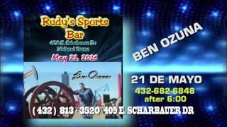 Rudys Sports Bar Ben Ozuna