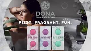 video Bomby do koupele DONA Naughty Sinful Spring 2 ks