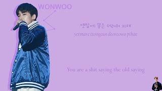 LOTTO (remix) - Seventeen (세븐틴) - HipHop unit - (color coded Han/Rom/Eng lyrics)