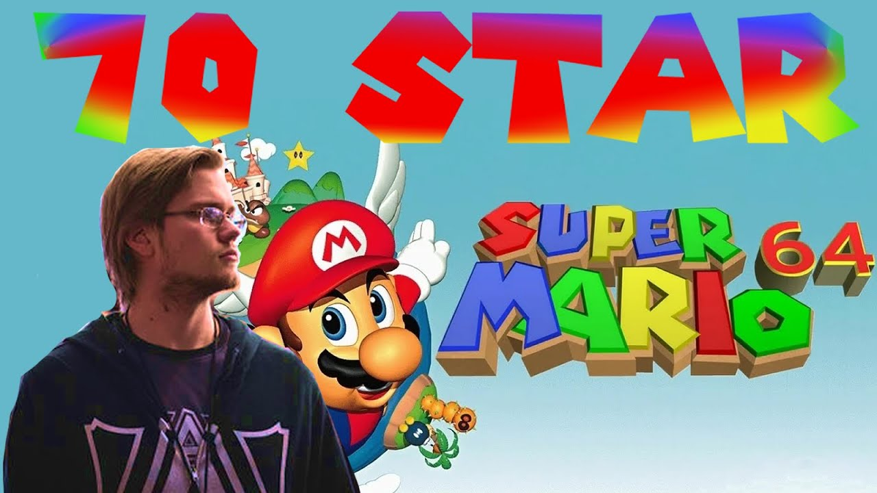 Armada - Super Mario 64 - 70 Star Run - PB 51:30
