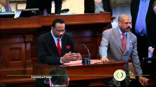 House Invocation - Dr. Gusta Booker - February 12, 2015
