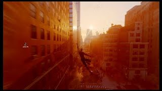Marvels Spider-Man Raimi Suit- Spider-Man 2 Ending Swing